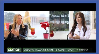 Nga Milano në krye të klubit sportiv Tirana, rrëfimi i Deborah