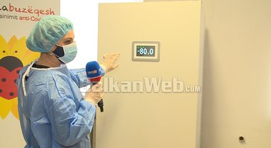 Ekskluzive/ News24 brenda dhomës frigoriferike -80 gradë ku ruhen