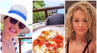 E ëma i tregon Rita Orës si të gatuajë gjizë me speca