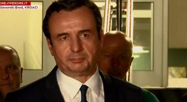 Albin Kurti flet nga spitali ku po trajtohen të plagosurit në Kroaci: