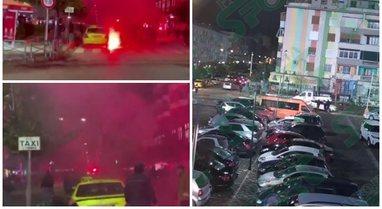 Përplasjet e dhunshme dje në Elbasan, para derbit Partizani-Tirana,