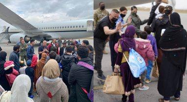 FOTO/ U strehuan për disa javë në Kosovë, 51 afganë