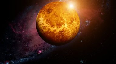 Shenja jete në retë acide të Venusit