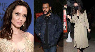The Weeknd takohet me Angelina-n dhe fëmijët e saj në një