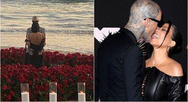 Disa muaj pasi u lidhën, Travis Barker i propozon për martesë