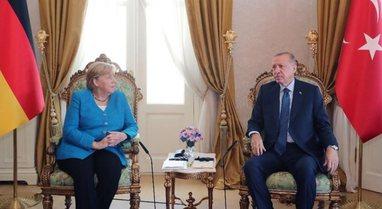 Vizita e lamtumirës/ Kancelarja gjermane Angela Merkel takohet me Erdogan: