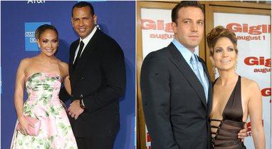 Pas ndarjes nga Alex Rodriguez, Jennifer Lopez takohet me ish-bashkëshortin