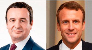 Albin Kurti do të pritet nga Presidenti Macron, ja kur do të