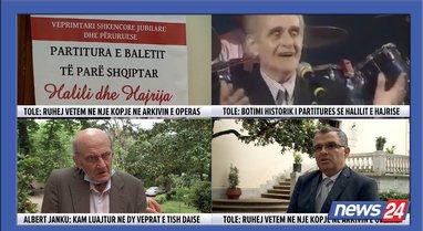 Botimi historik i partiturës së baletit të parë shqiptar,