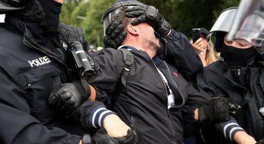 Policia gjermane arrestoi 600 protestues, çfarë ndodhi me