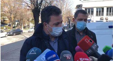 Ministri Peleshi flet nga Korça për situatën e koronavirusit