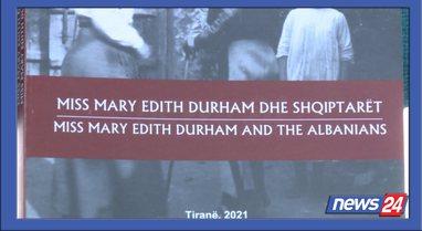 """""""Mbretëresha e maleve"""", libri me studime mbi Edit Durhamin"""