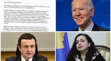 """""""Kosova ka vend special në familjen time""""/ Biden letër"""