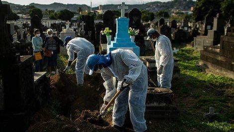 Shifra rekord të infektimeve në Brazil / Epiqendra e re e