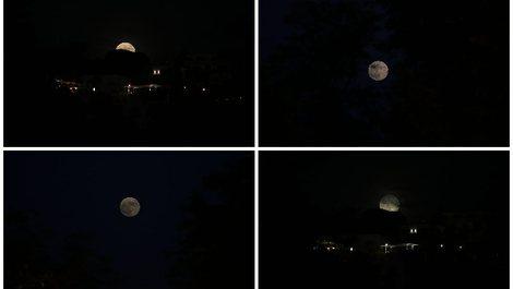 FOTO-LAJM/ Super Hëna ndriçon qiellin, ja pamjet e mrekullueshme