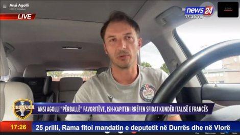 """Ansi Agolli në """"EUROMANIA"""": Dy ekipe më bindin si"""