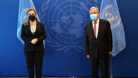 Xhaçka takon Sekretarin e Përgjithshëm të OKB: