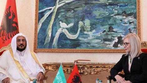 Nikolla takon ministrin e Arabisë Saudite për Çështjet