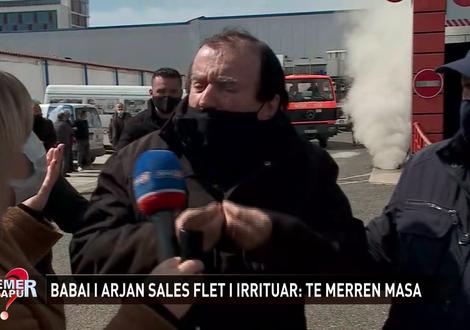 Zjarri në magazinën në Kashar, shpërthen në lot babai i