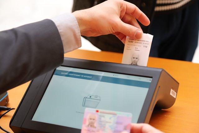 Identifikimi elektronik, ja pajisja që do të garantoj votim të