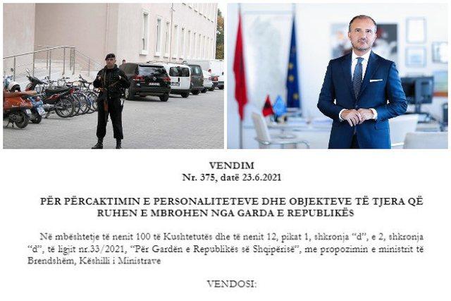 Garda e Republikës merr në ruajtje ambasadorin e BE. Ja vendimi