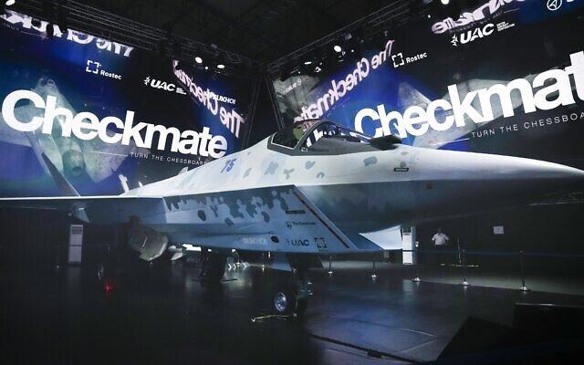 Rusia tregon avionin e saj të ri për të mundur avionin amerikan