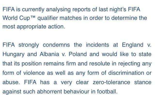 """FIFA reagon ashpër për episodin në """"Air Albania"""":"""