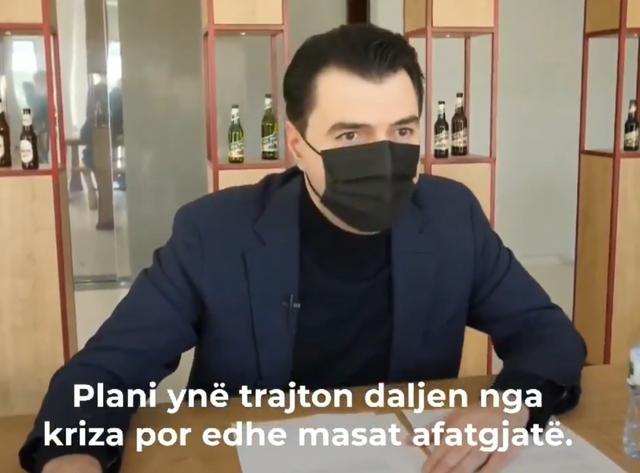 """""""Plani ynë trajton daljen nga kriza"""", Basha: Ulja e taksës"""