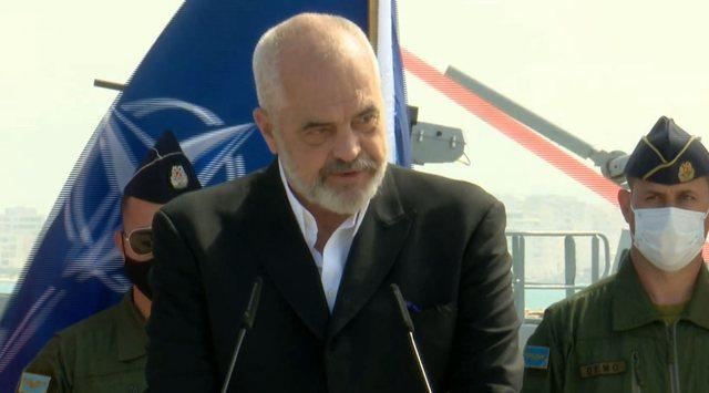 Kryeministri Rama flet nga Durrësi stërvitjen  e NATO-s: Unikale