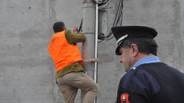 Vjedhja e energjisë elektrike, operacione në Tiranë, Lezhë e