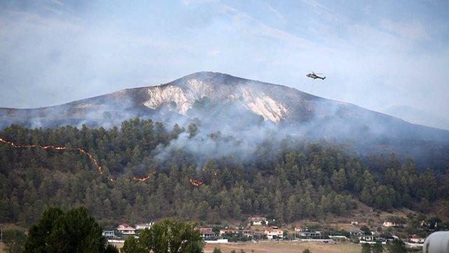LAJMI FLASH/ Riaktivizohet vatra e zjarrit në zonën 'Arshi