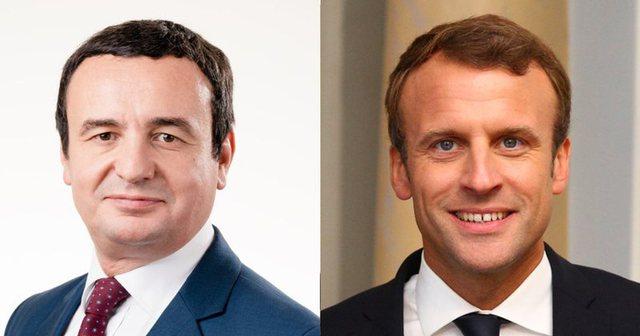 Kurti takohet me Macronin në Paris, kjo është tema që do