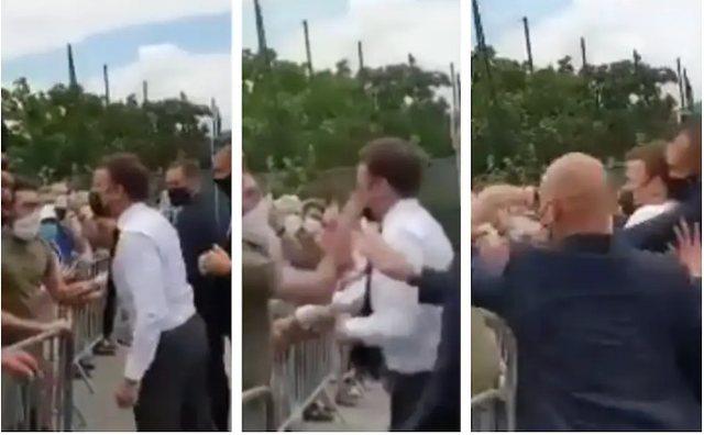 Goditi me shuplakë në fytyrë presidentin Macron, dënohet me