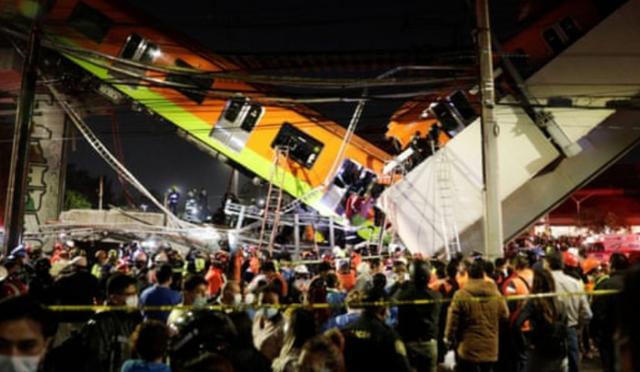 Shembet mbikalimi i metrosë në kryeqytetin e Meksikës,13 të