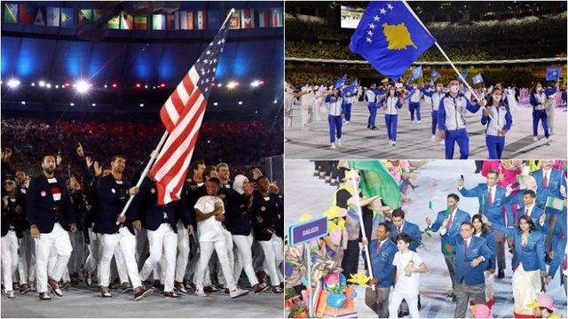 Olimpiada e Tokios: Statistikat dhe faktet interesante nga vendet