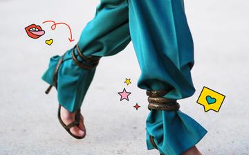 Si ju duket trendi i ri i veshjes së pantallonave?