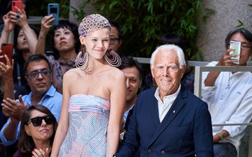 Because of the coronavirus, Giorgio Armani makes the unexpe...