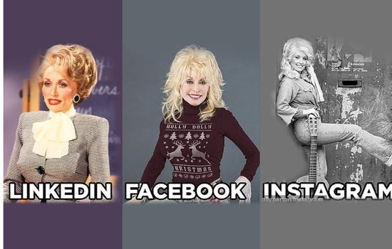 Si janë të famshmit në LinkedIn, Facebook, Instagram dhe Tin...