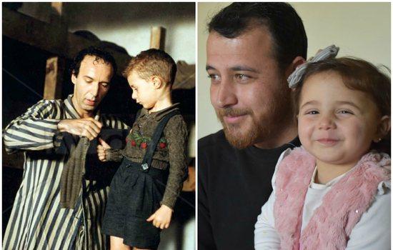 Versioni real i 'La vita è bella': Babai mëson të