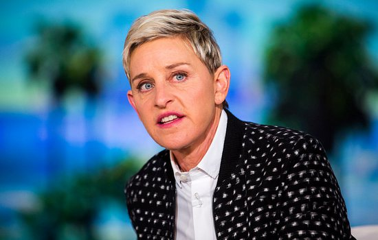 Ellen DeGeneres is criticized by people after the inappropriate j...