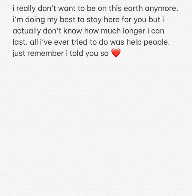 Ish i fejuari i Ariana Grande paralajmëron vetëvrasjen