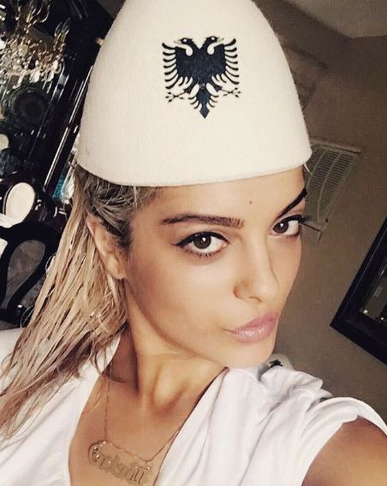 Image result for bebe rexha albanian