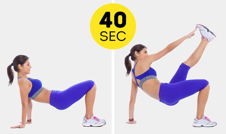 Flat stomach exercises if you only have 10 minutes of time