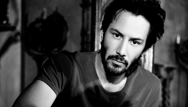 Giant beard and long hair: Keanu Reeves not known
