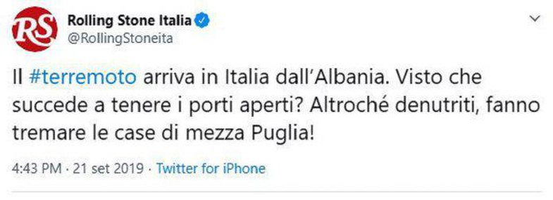 What stands behind the racist posting of the Italian magazine against Albanians