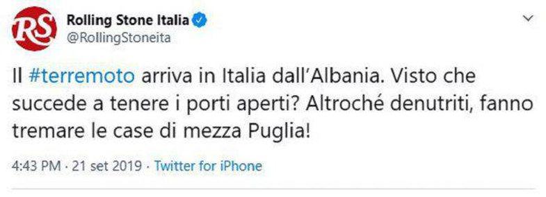 Ç'qëndron pas postimit racist të revistës italiane