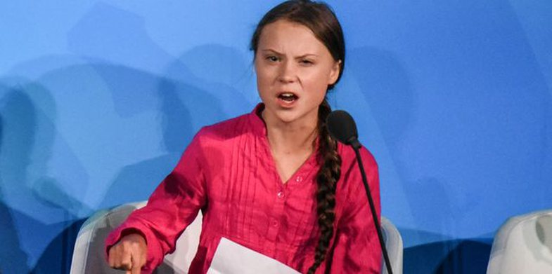 16-year-old shocked the world with a speech to politicians: