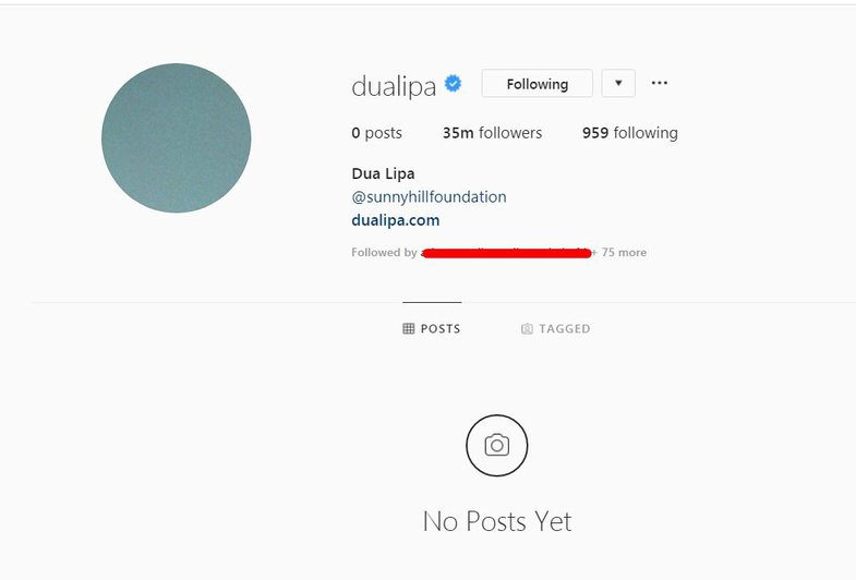 New Age: What Happened to Dua Lipa's Instagram?