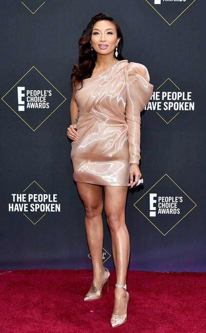 The most beautifully dressed stars at the People's Choice Awards