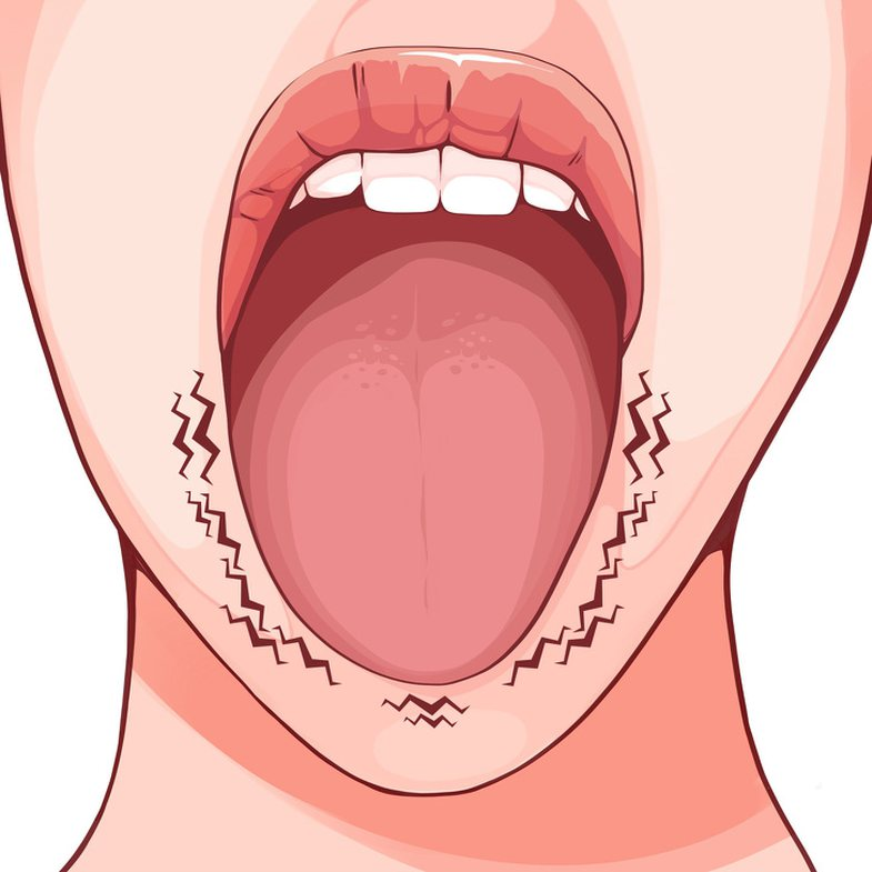What the shape and appearance of the tongue signifies for health